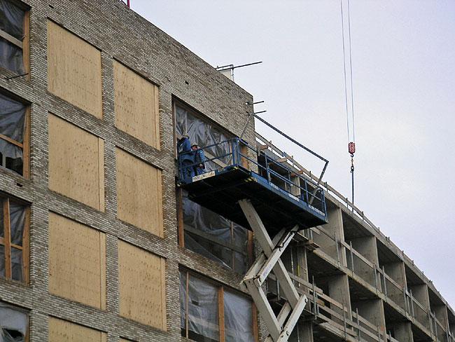 Mauritius ij zijde krijgt metalen frames voor de glaspartij - Toren voor pergola ...