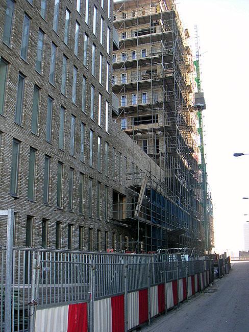 Windhontstraat ulysses heeft aan deze kant nog wel steigers - Toren voor pergola ...