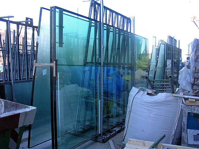 Glazen panelen voor morgenster - Toren voor pergola ...